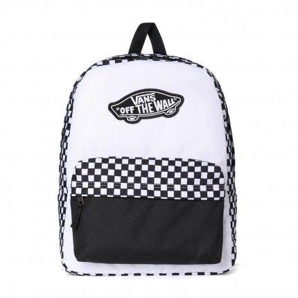 093b460ef0 Mochila Vans - WM Realm Backpack Black-White Checkerboard - No Comply Skate  Shop ...
