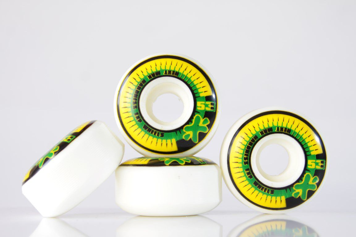 Roda Next - Sem Miolo White 53mm  - No Comply Skate Shop