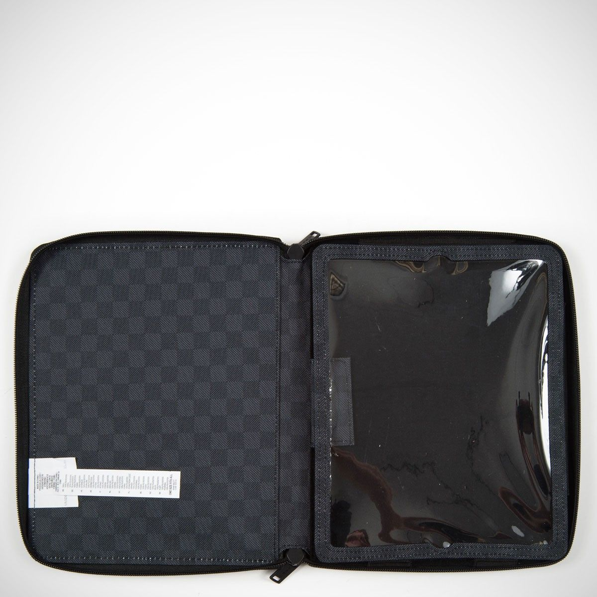 Vans Ipad Case - Black Checks  - No Comply Skate Shop