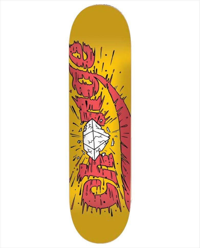 Shape Change - Marfim Diamond Amarelo  - No Comply Skate Shop
