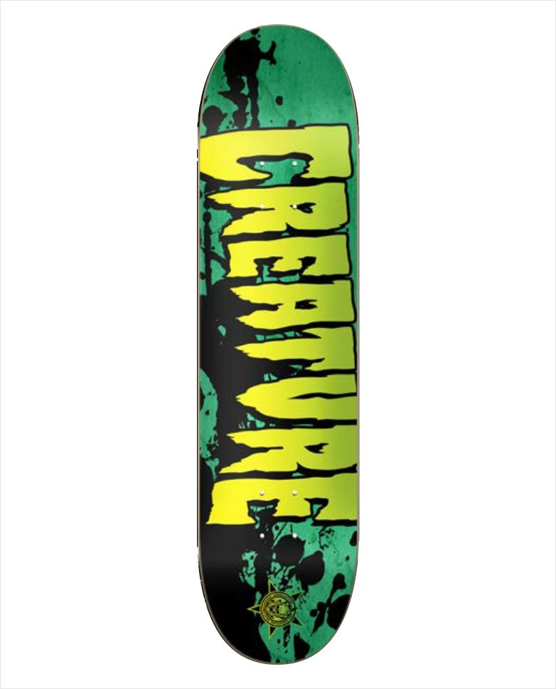"Shape Creature - Maple Stained Green 7.9""  - No Comply Skate Shop"