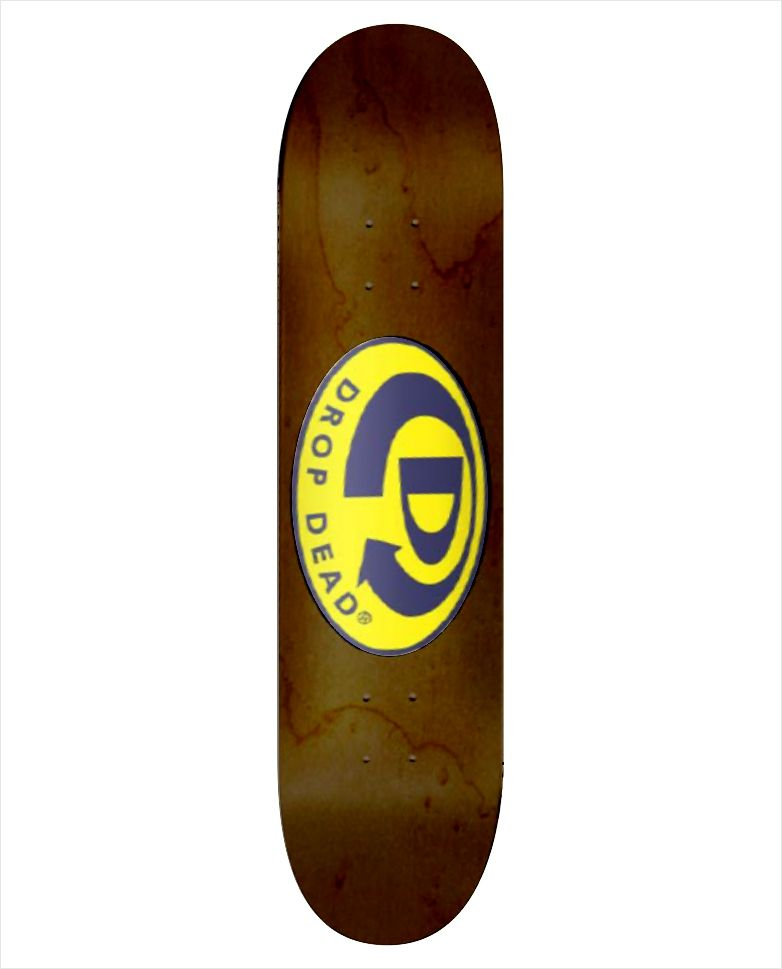 "Shape Dropdead - Heat Transfer Classic Logo Wood 7.75""  - No Comply Skate Shop"