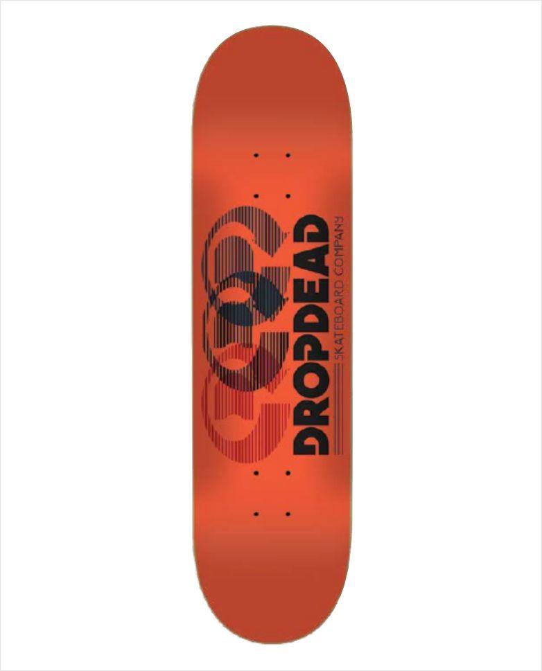 "Shape Dropdead - Heat Transfer Optics Orange 8.1""  - No Comply Skate Shop"