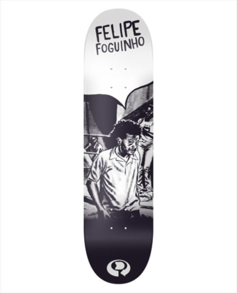 "Shape Dropdead - NK2 Heat Transfer Felipe Foguinho 8.1""  - No Comply Skate Shop"