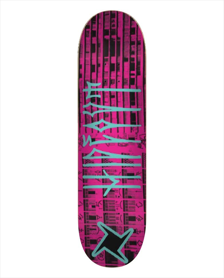 "Shape Hideout - Heat Transfer Treme Treme Rosa 7.75""  - No Comply Skate Shop"