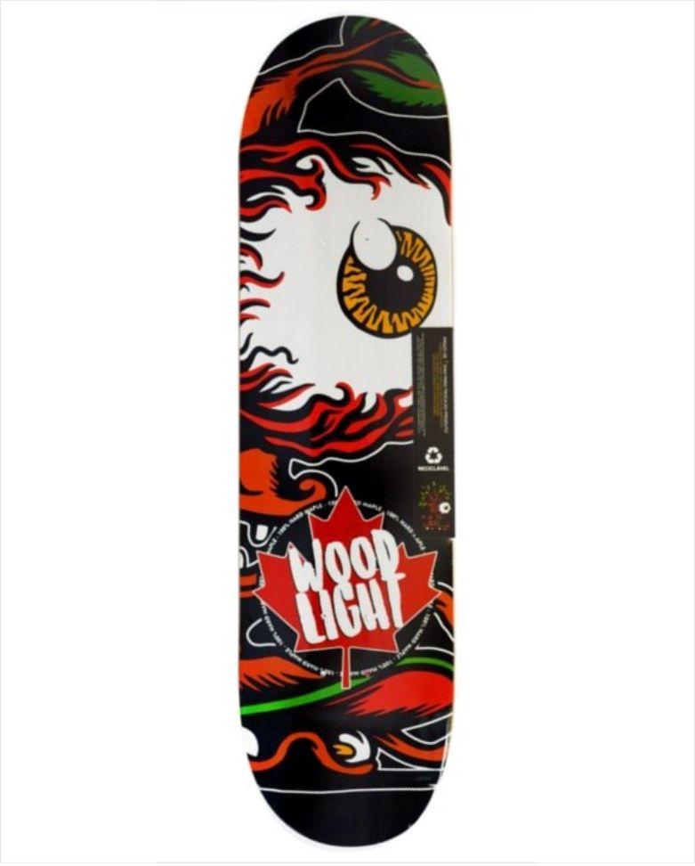 Shape Wood Light - Maple Profile  - No Comply Skate Shop