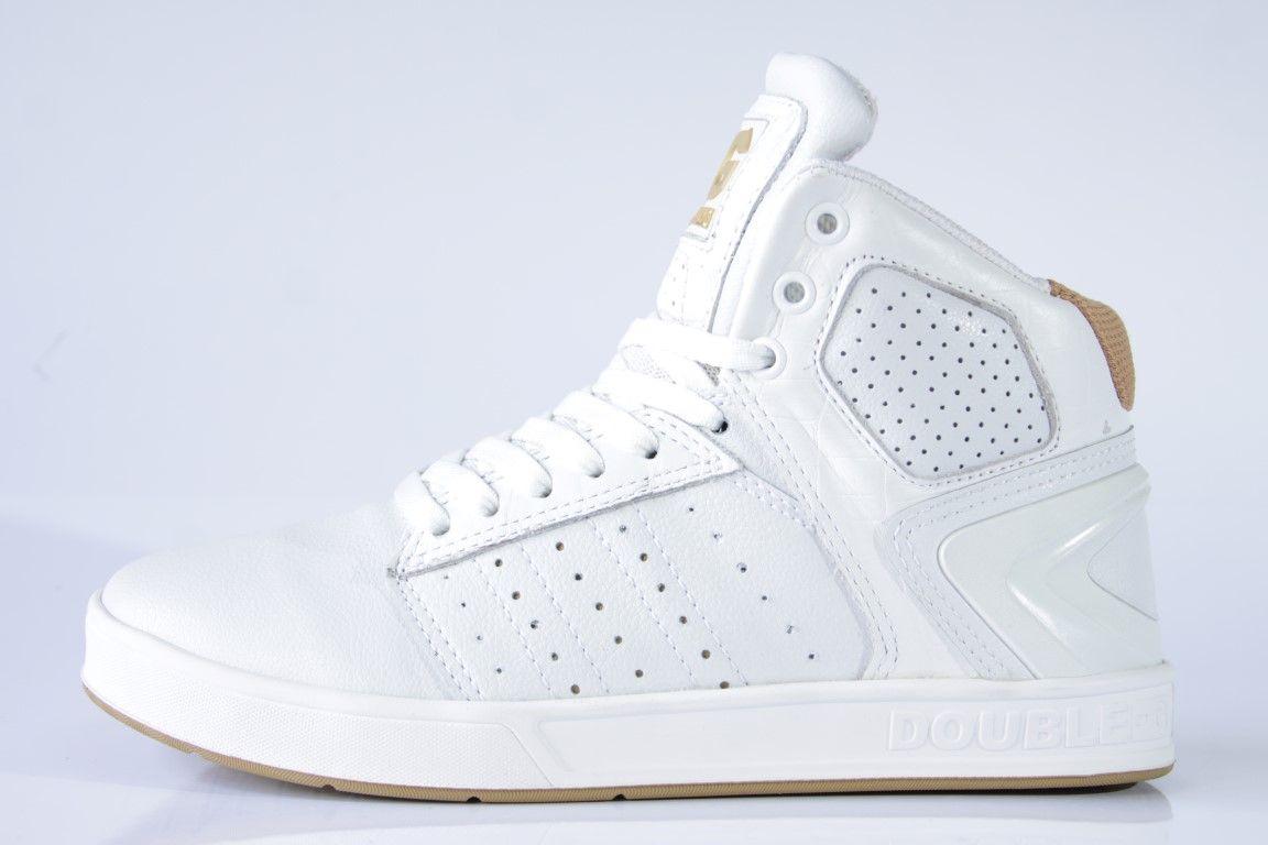 Tênis Double-G - Scratch Branco  - No Comply Skate Shop