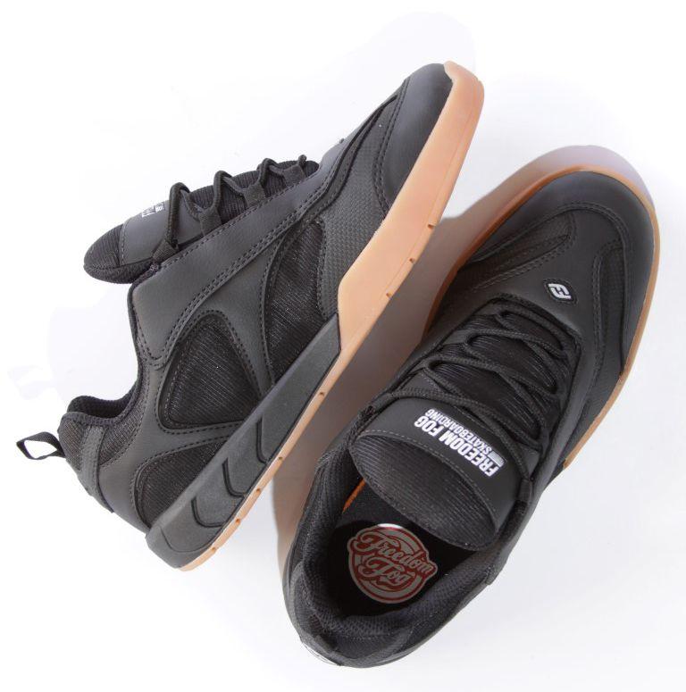 Tênis Freedom Fog - Elect Sintético/Nylon Preto  - No Comply Skate Shop