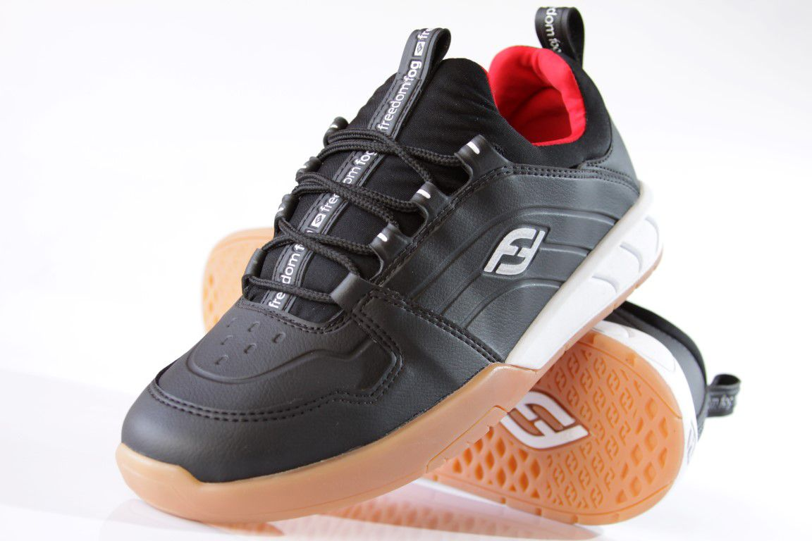 44c9118653c ... Tênis Freedom Fog - Play Sintético Lycra Preto Latex - No Comply Skate  Shop ...