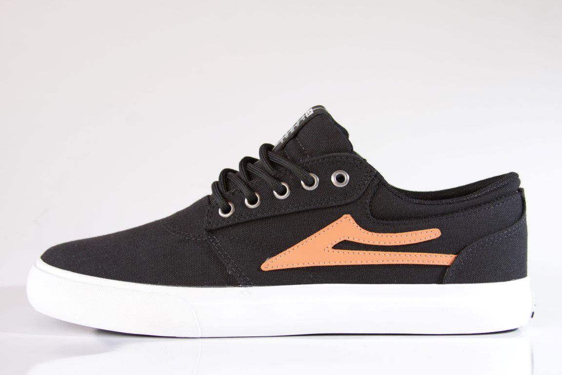 Tênis Lakai - Griffin TX Canvas Black/Gold  - No Comply Skate Shop