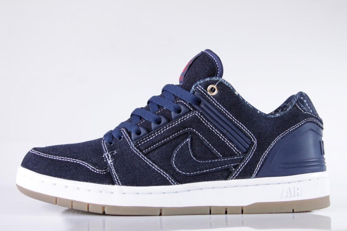 Tênis Nike SB - Air Force II Low QS X Tupac Shakur Binary Blue/White  - No Comply Skate Shop