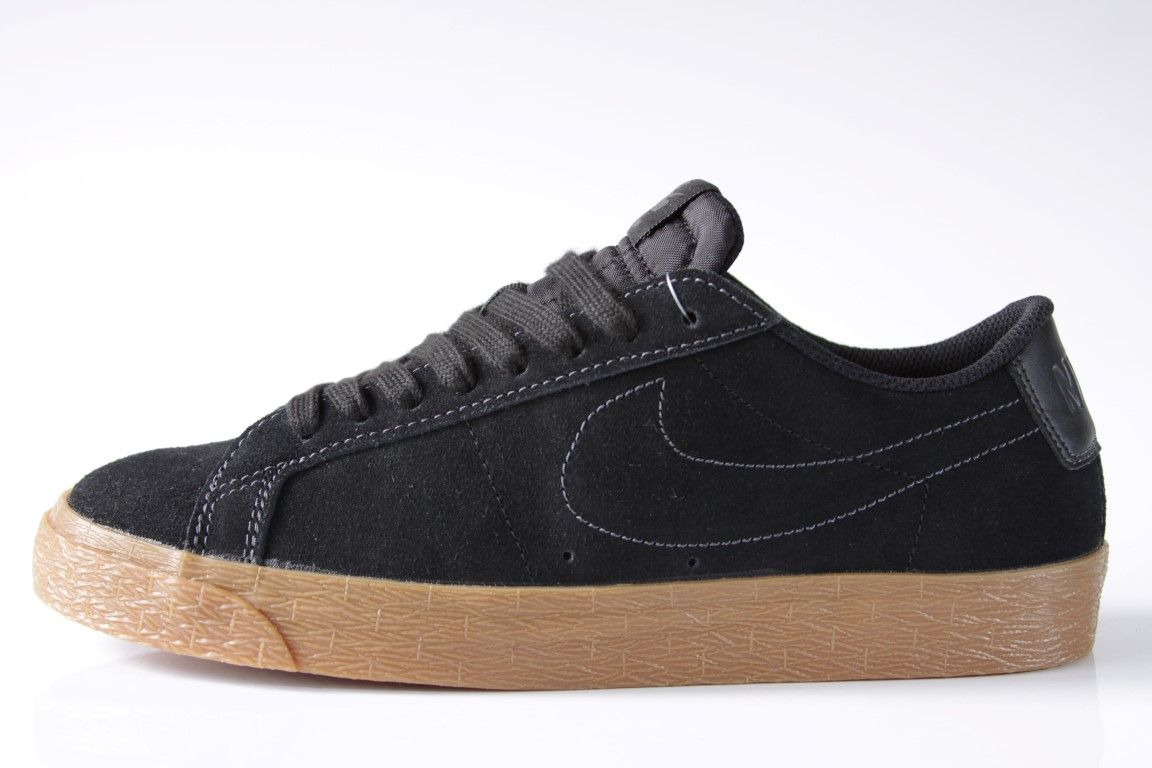 d25662a2586 Tênis Nike SB - Blazer Zoom Low Black Black-Anthracite - No Comply Skate ...