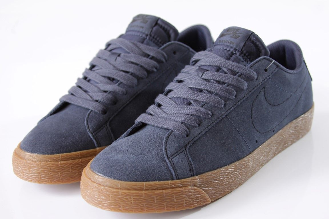 312dccd2243 ... Tênis Nike SB - Blazer Zoom Low Thunder Blue Gum - No Comply Skate Shop  ...