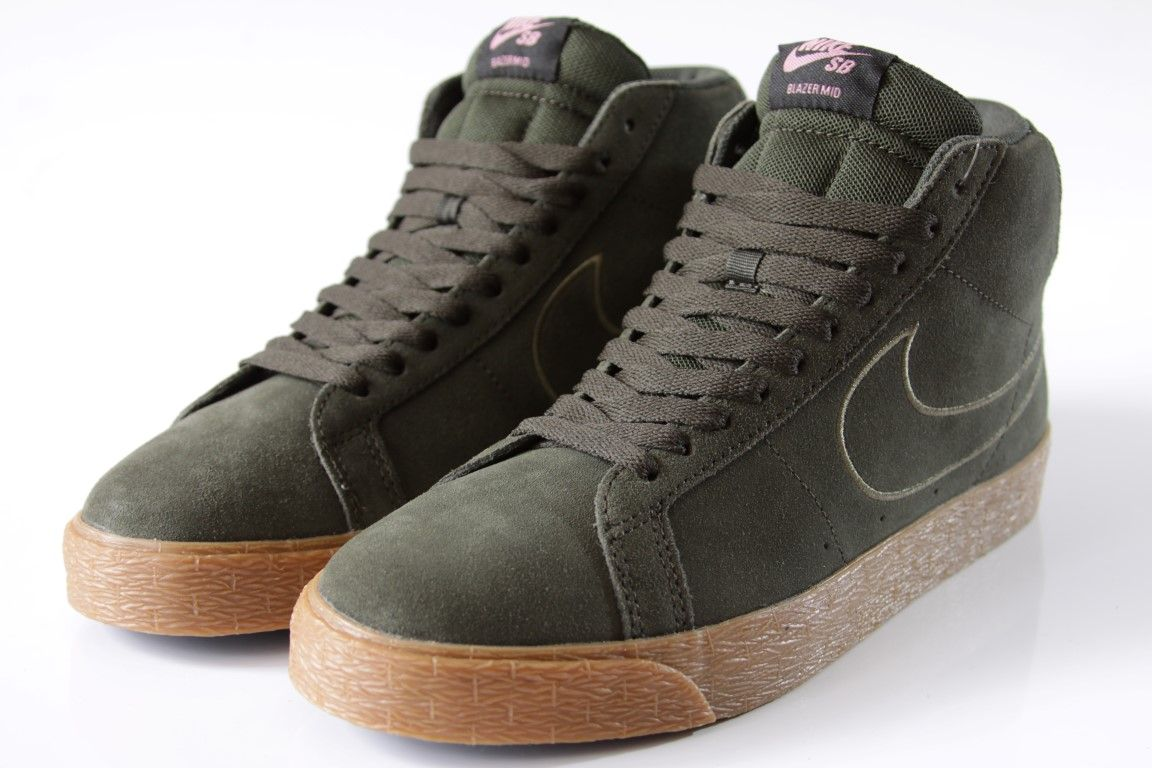 Tênis Nike SB - Blazer Zoom Mid Sequoia/Medium Olive-Black  - No Comply Skate Shop