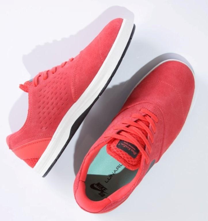 Tênis Nike SB - Eric Koston 2 LT Crimson/Black-Crystal Mint  - No Comply Skate Shop