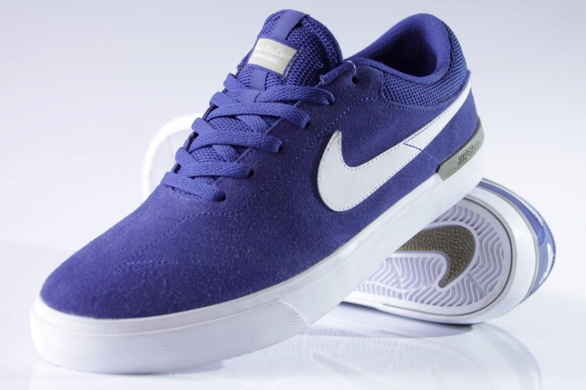 Tênis Nike SB - Eric Koston Hypervulc Deep Royal Blue/White  - No Comply Skate Shop