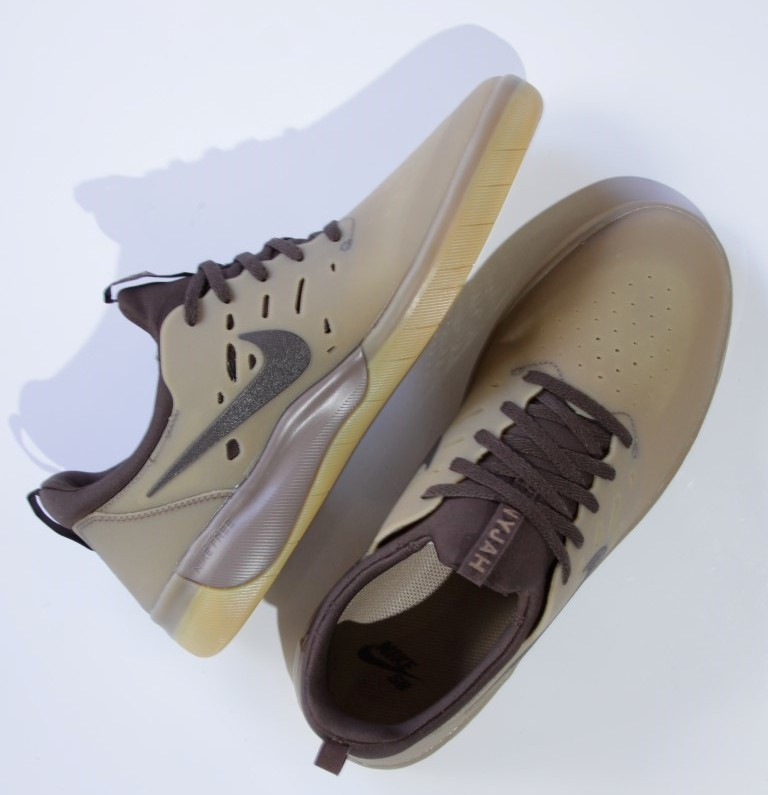 Tênis Nike SB - Nyjah Free Gum Dark Brown/Baroque Brown  - No Comply Skate Shop