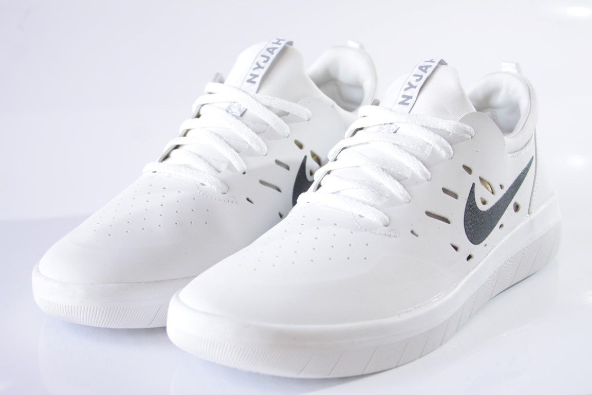 ... Tênis Nike SB - Nyjah Free Summit White/Anthracite - No Comply Skate  Shop ...