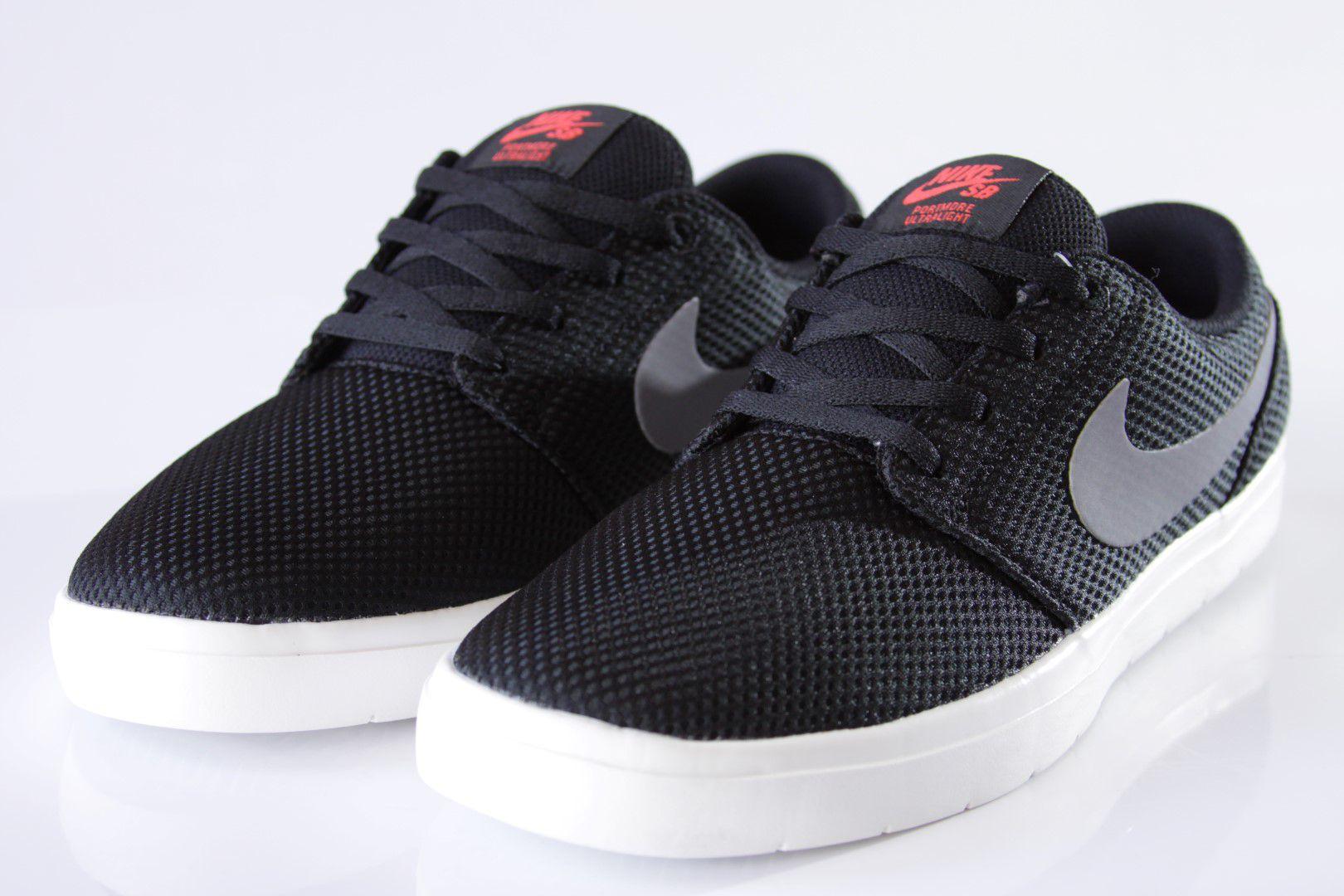 Tênis Nike SB - Portmore II Ultralight Black/Gunsmoke  - No Comply Skate Shop