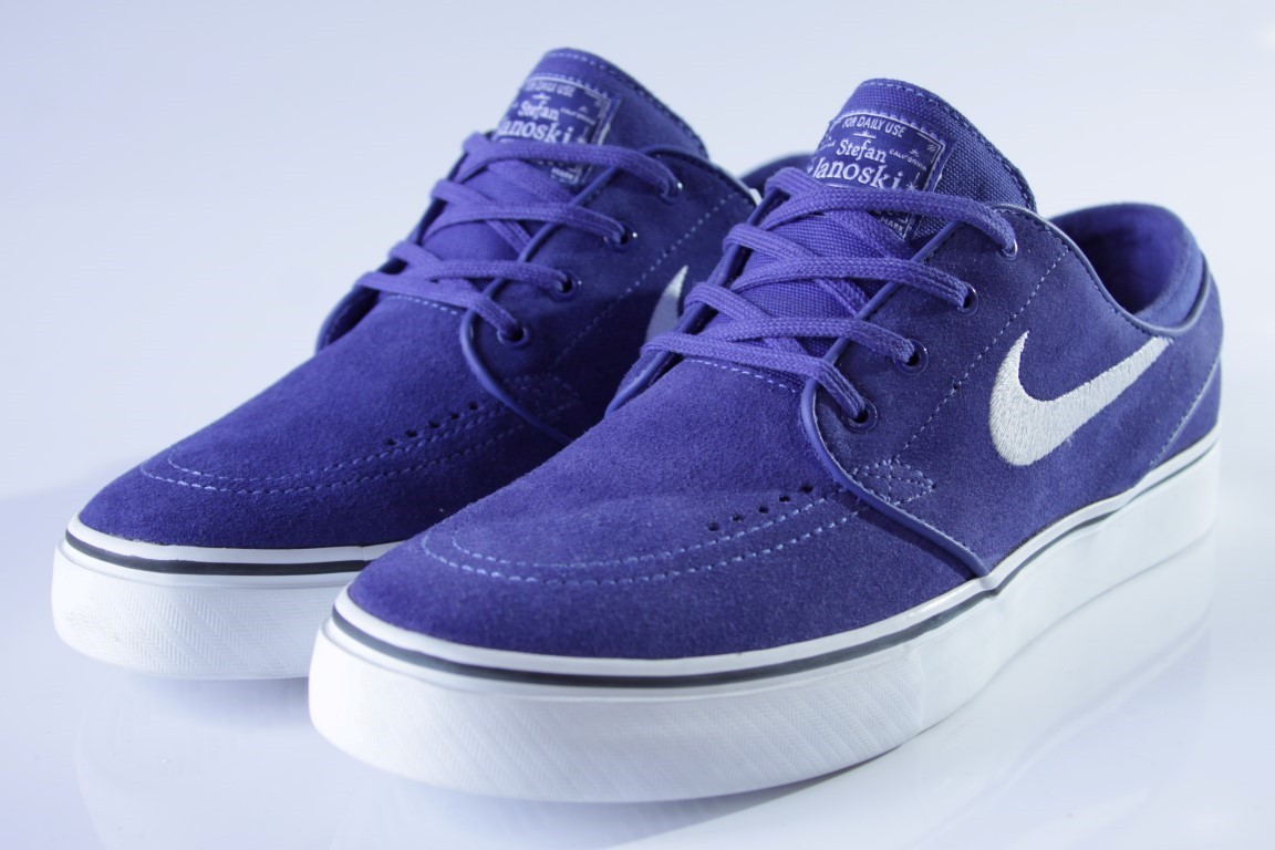 9e698d704c86 ... Tênis Nike SB - Zoom Stefan Janoski Deep Night White-Black - No Comply  ...