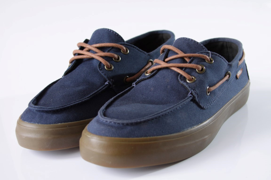 Tênis Vans - M Chauffeur SF Navy/Gum  - No Comply Skate Shop