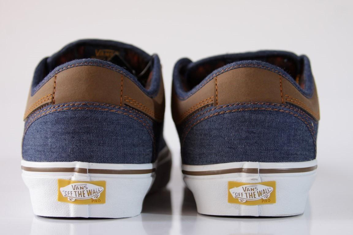 Tênis Vans - M Chukka Low Denim/Brown (Leather)  - No Comply Skate Shop