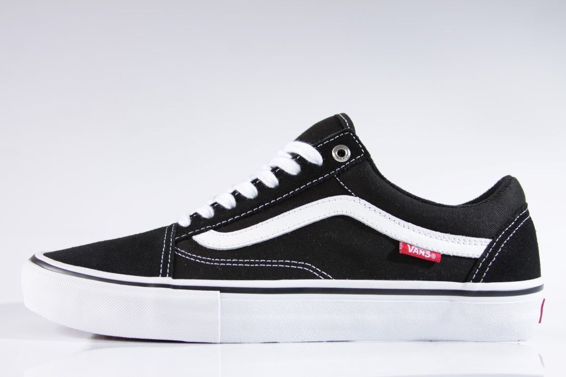 c75c26c57e8 Tênis Vans - MN Old Skool Pro Black White - No Comply Skate Shop ...