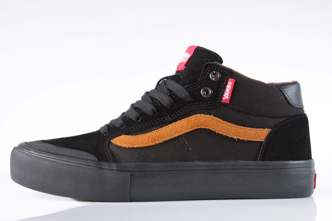 Tênis Vans - MN Style 112 Mid Pro (Dakota Roche) Black  - No Comply Skate Shop