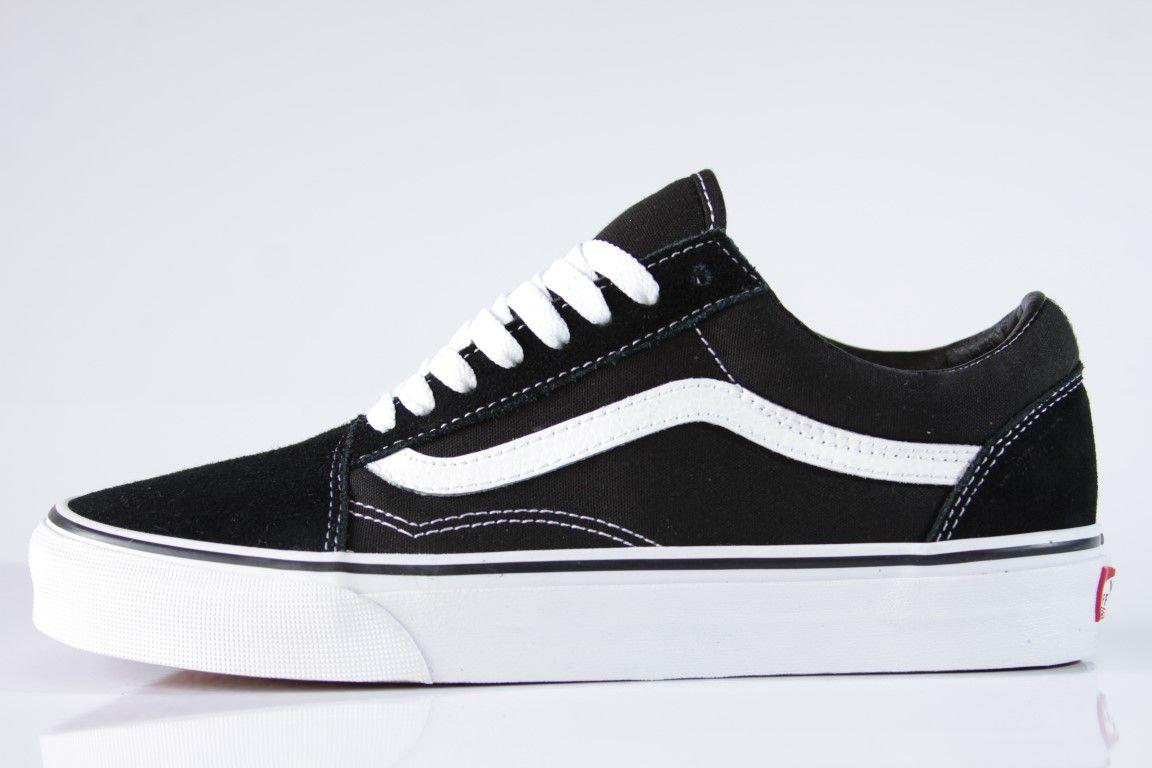 Tênis Vans - Old Skool Black White - No Comply Skate Shop ... 9eb67cb868107