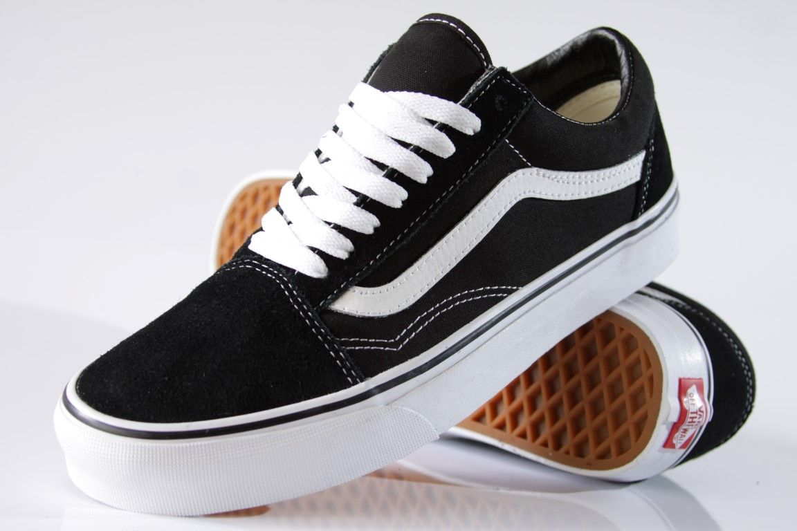 36ef17456b8 ... Tênis Vans - Old Skool Black White - No Comply Skate Shop ...