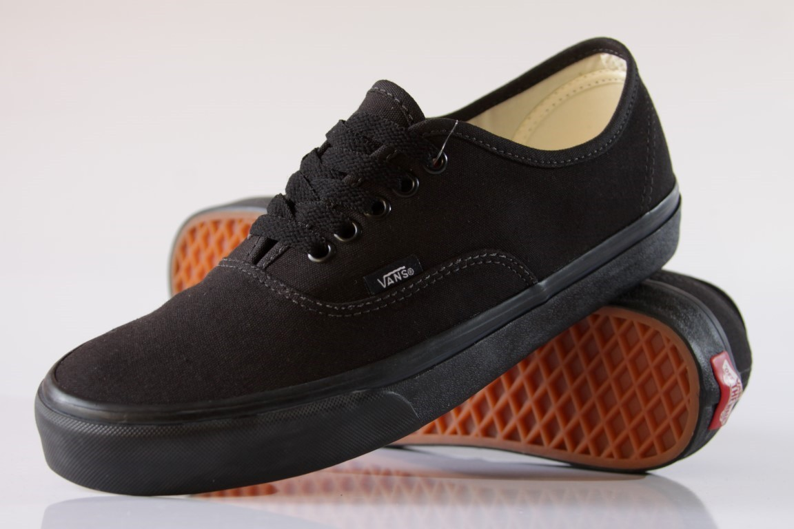 Tênis Vans - U Authentic Black/Black - No Comply Skate Shop