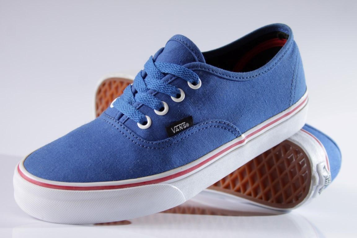 Tênis Vans - U Authentic Princess Blue/Mars Red  - No Comply Skate Shop