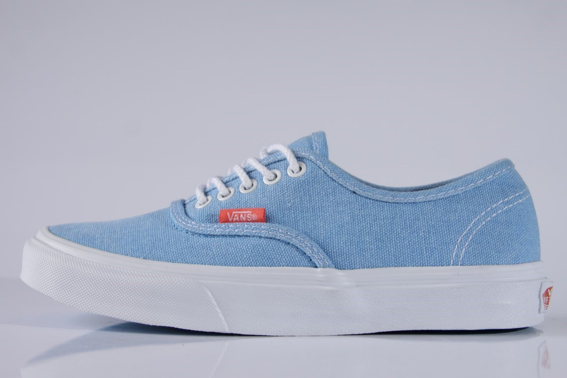 Tênis Vans - U Authentic Slim (Rope Lace) Malibu Blue Coral - No ... 5f6147fd4f