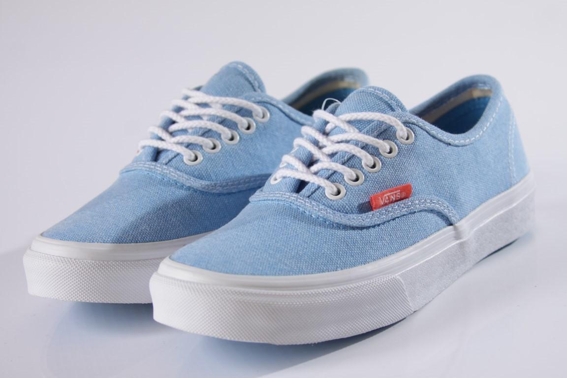 Tênis Vans - U Authentic Slim (Rope Lace) Malibu Blue/Coral  - No Comply Skate Shop