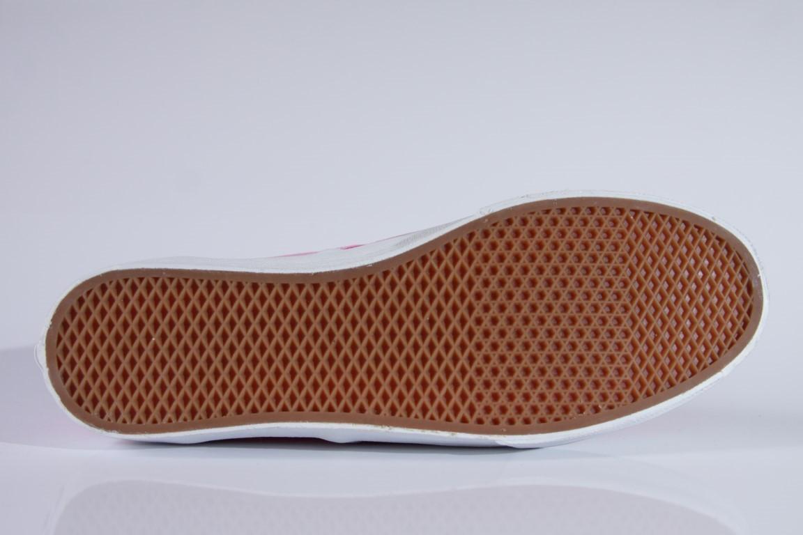 Tênis Vans - U Authentic Slim Sachet Pink/True White  - No Comply Skate Shop