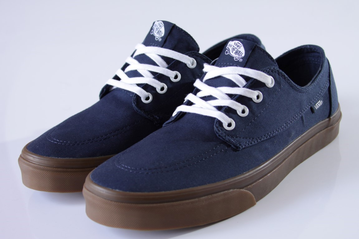 Tênis Vans - U Brigata (Gumsole) Dress Blues  - No Comply Skate Shop
