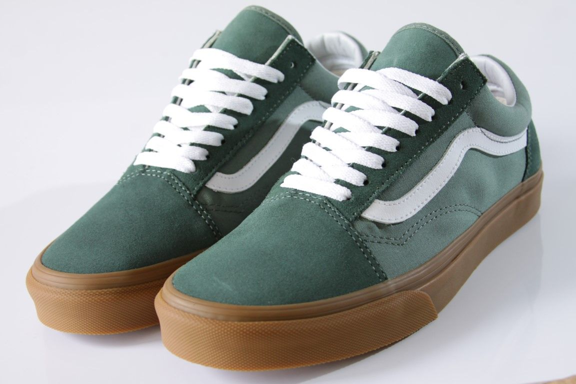Tênis Vans - UA Old Skool Duck Green/Gum  - No Comply Skate Shop