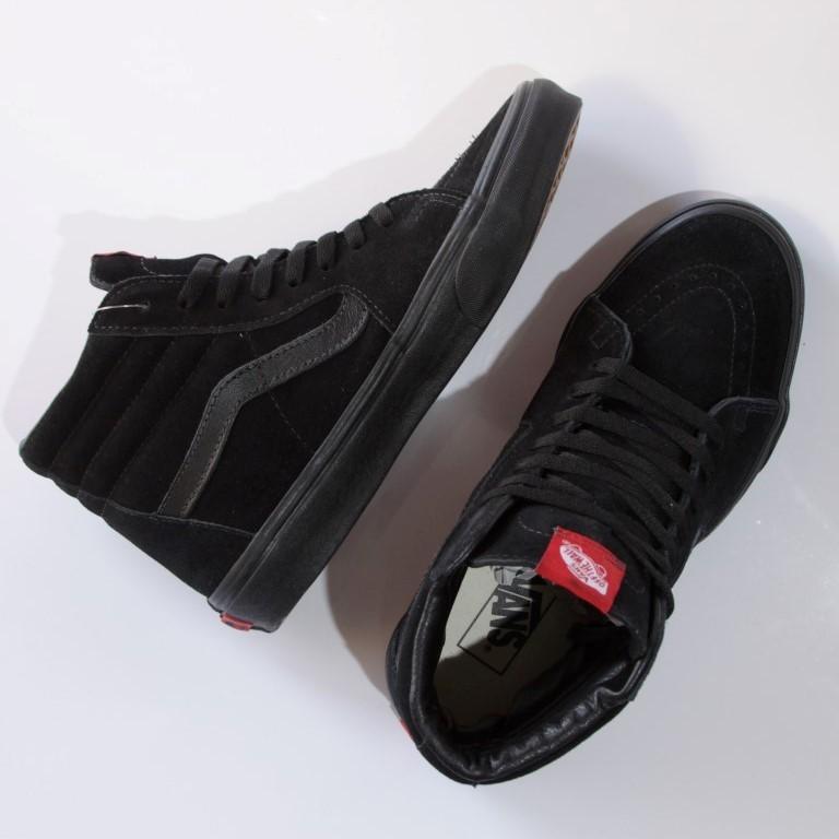 Tênis Vans - UA SK8-Hi Black/Black  - No Comply Skate Shop