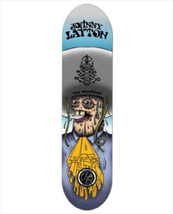 "Shape Toy Machine - Johnny Layton P2 8.25""  - No Comply Skate Shop"