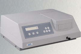 Espectrofotômetro UV-VIS Duplo feixe com Varredura - Q798UVDB