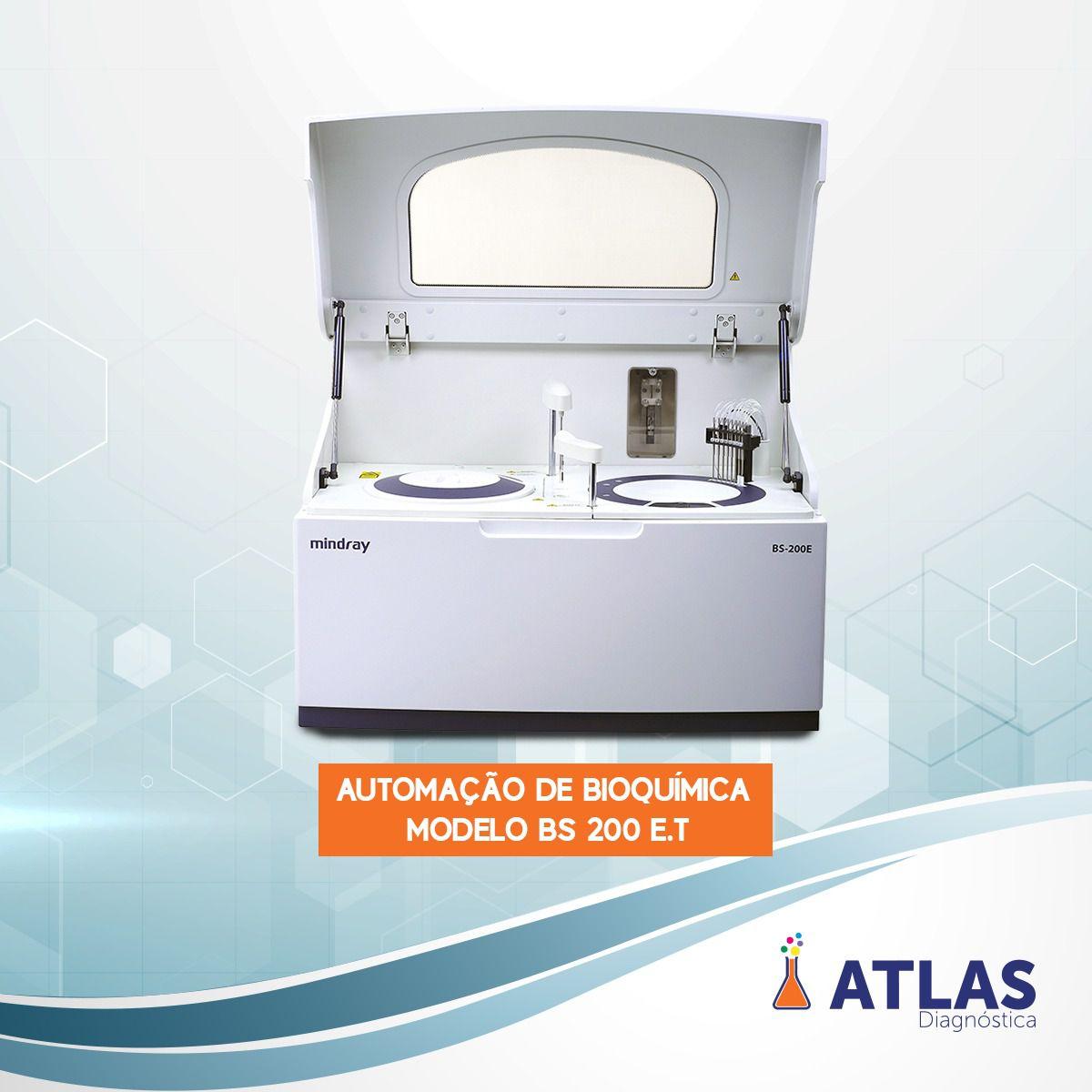 Analisador bioquimica BS 200 Mindray  novo
