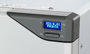 Autoclave Horizontal digital INOX 12 / 17 / 21 litros Bio Art
