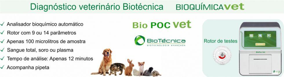 Bioquimica em Disco Veterinário  BIOPOC VET
