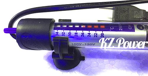 Termostato com aquecedor Atman AT 250w 110v.127v.  - KZ Power