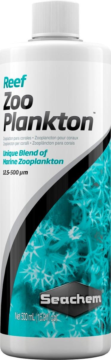 Seachem Reef Zooplankton 500ml Alimento Corais Reef Marinho  - KZ Power