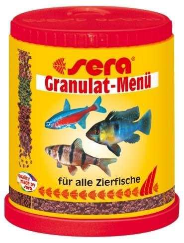Ração Alimento Peixes Aquario Sera Menu Granulat Mix 66gr  - KZ Power