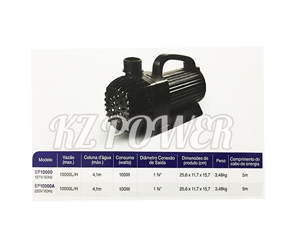 Bomba Recalque eletronica Mydor Ecco 10.000 L/h. 127v.  - KZ Power