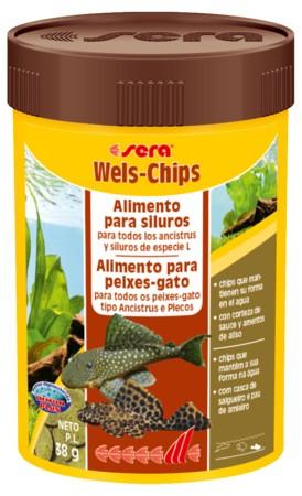 Ração Alimento Para Peixes De Fundo Sera Wels Chips 38gr  - KZ Power