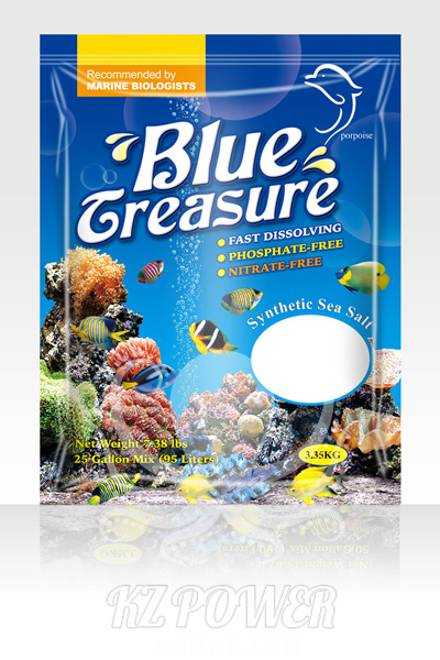 Sal Blue Treasure Reef Sea Salt 3.35 Kg ( Saco )  - KZ Power