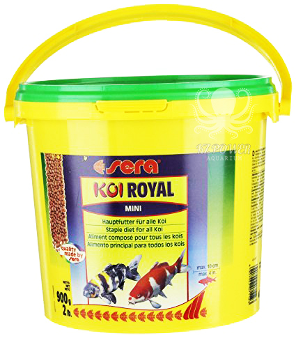 Ração Sera Koi Royal Mini 900gr  - KZ Power